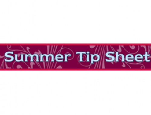 Summer Tip Sheet