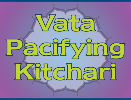 Vata-pacifying Kitchari