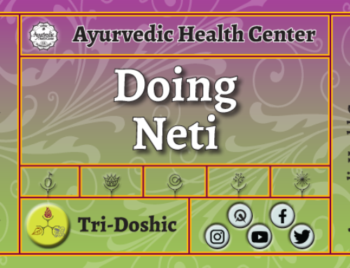 How to do Neti