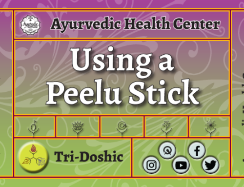 Using a Peelu stick