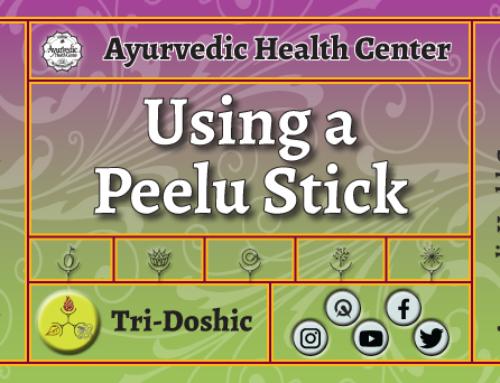 Using a Peelu stick