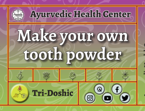 Make your own Tooth Powder